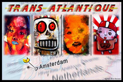 Trans Atlantique postcard
