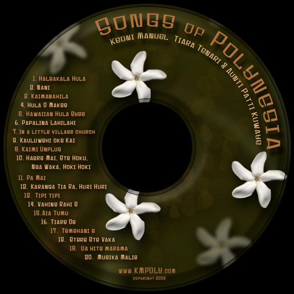songs of poly cd label